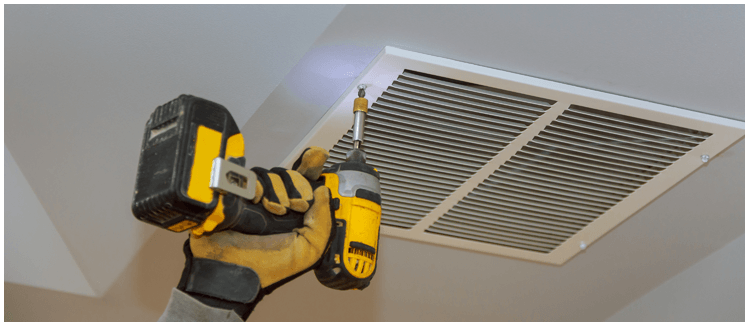 ducted air-conditioning maintenance