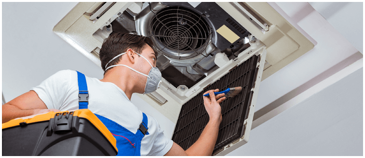 ducted air conditioning servicing