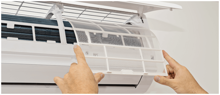 split system air conditioning servicing